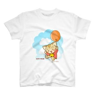 すずにゃん(風船) T-shirts