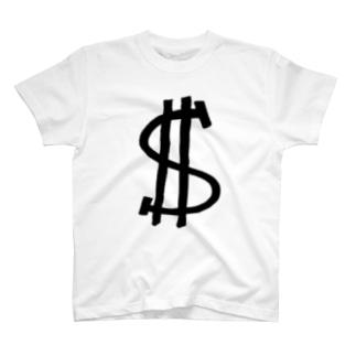 ドル B ① T-shirts