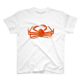 ズワイ蟹 T-shirts