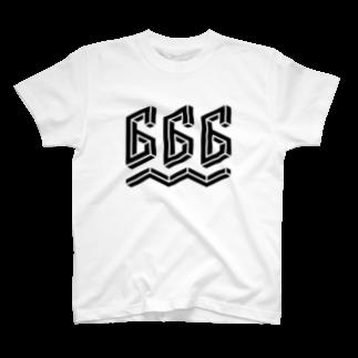 dummy49の不可能図形「666」 T-shirts