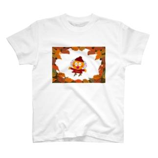 秋冬ファッションのクレコちゃん T-shirts