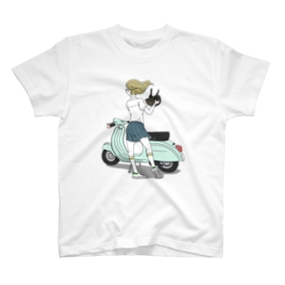SCOOTER GIRL T-shirts