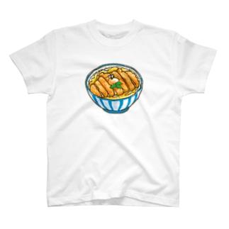ぶちゃくま。カツ丼 T-shirts