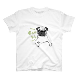 名入れ ファーンパグ T-shirts
