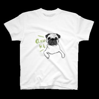 iccaの名入れ ファーンパグ T-shirts