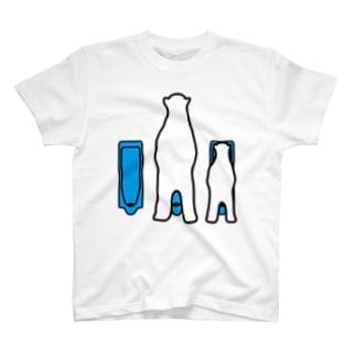 親子トイレ T-shirts
