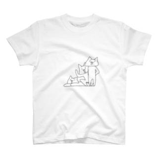 NECO * 3人衆 T-shirts