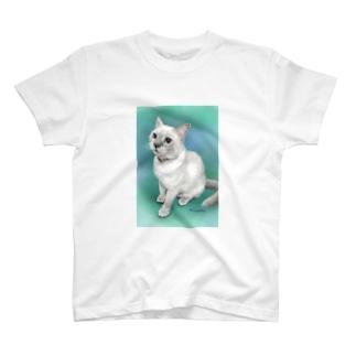 トンキニーズのビーちゃん T-shirts