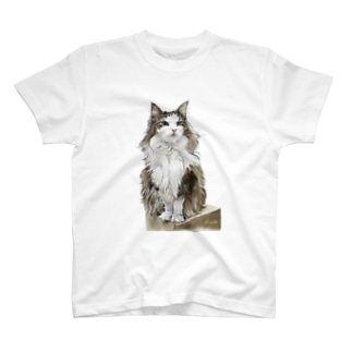 ノルウエージャンのミエルちゃん T-shirts