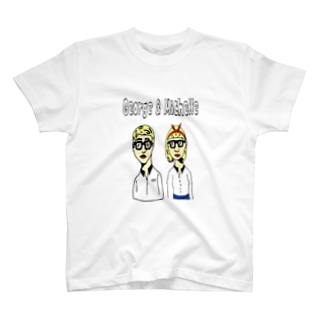 George & Michelle T-shirts