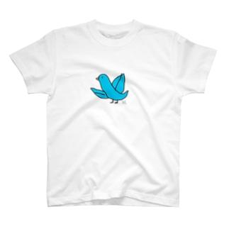 Blue Bird T-shirts