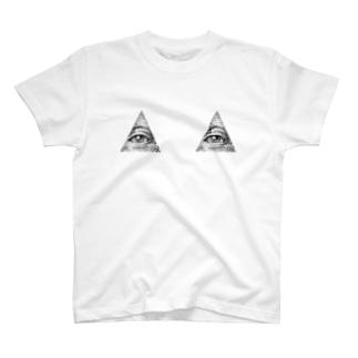 プロビデンスアイ T-shirts
