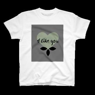 aiko_Blessing_の私は貴女が好きです T-shirts