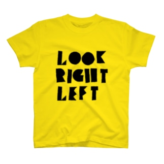 LOOK RIGHT LEFT Tシャツ