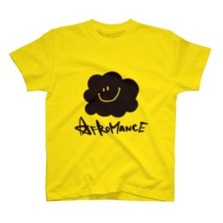 アフロマンス・ロゴ Tシャツ