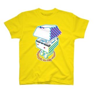 お座りキーキャッピー Tシャツ