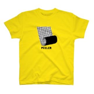 PEELER-07(B) Tシャツ