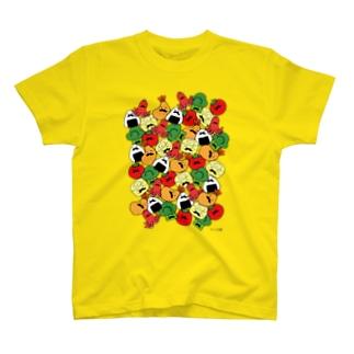 ヒゲ弁当(いっぱい) Tシャツ
