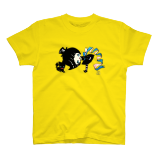 ShikaniwaSandyJidoS.AliceO.S.のwitch & cat Tシャツ