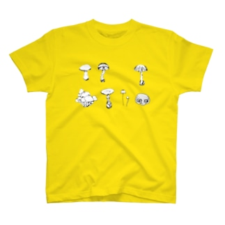 きのこ Tシャツ