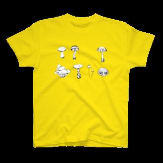 大福のきのこTシャツ