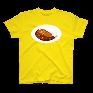 カツカレー Tシャツ