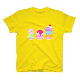 マカニャンとカップアイス Tシャツ