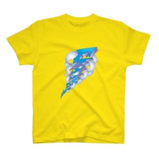 SAABO_Lightning Tシャツ
