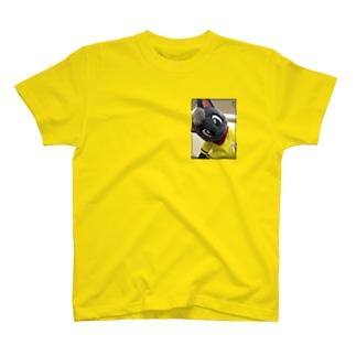 黒猫ポピー Tシャツ