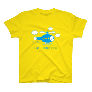 YASUKOのヘリコプターくん Tシャツ