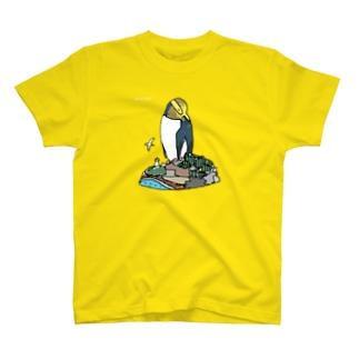 キガシラペンギン Tシャツ