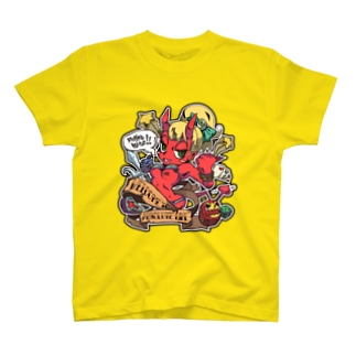 DEVIL YO-JYO [Yellow] Tシャツ