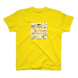 Love オヤツ Tシャツ