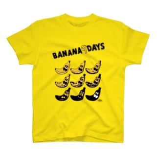 BANANA9DAYS Tシャツ