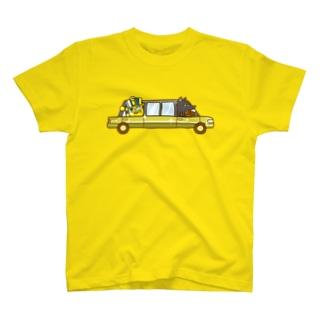 コガネモチくんのリムジン Tシャツ
