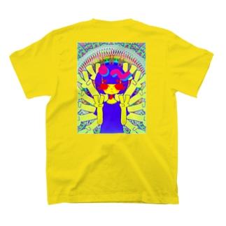 HAPPY千手観音LOVE菩薩。 T-shirts