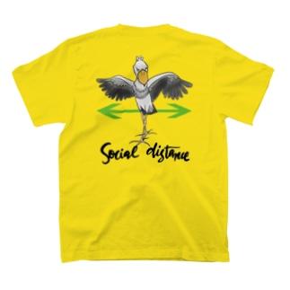 ハシビロディスタンス T-shirts