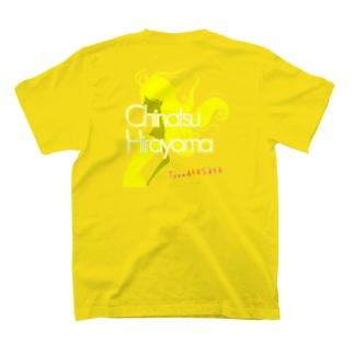 【推しメングッズ】TeamAKASAKA平山千夏 Tシャツ T-shirts