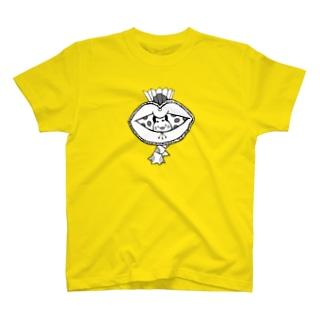 水玉オカメ T-shirts