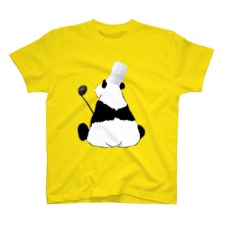シェフなパンダ T-shirts
