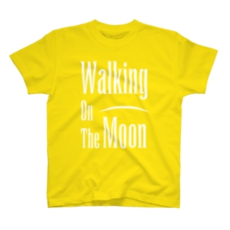 WALKING ON THE MOON WHT T-shirts
