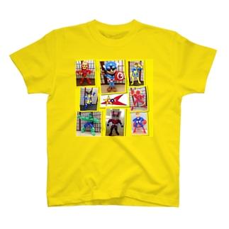 アメリカン ヒーロー T-shirts