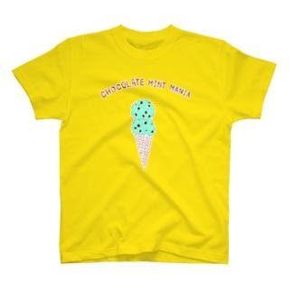 チョコミントマニア専用デザイン T-shirts