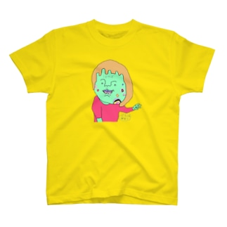 間違ったピースサインで割り込む女の子 T-shirts