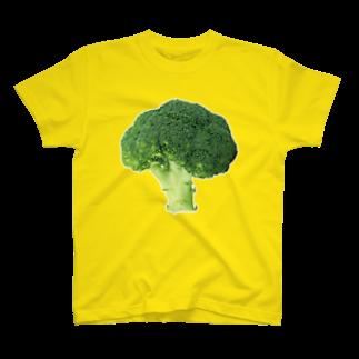 tissueのぶろっこりー Tシャツ