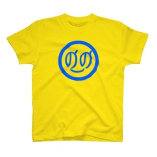 ののちゃんアップ!Tシャツブルーマーク T-shirts