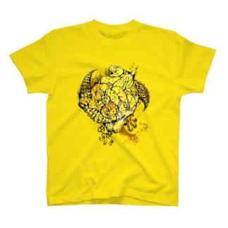 トゲオアガマ相撲 T-shirts