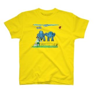 りしゆな:ゾウさん by はせりょう T-shirts