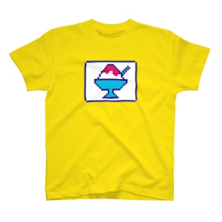 ドットかき氷 T-shirts