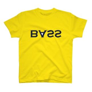 URAME BASS TEE(ネイビーロゴ) T-shirts